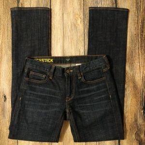 JCrew Stretch Matchstick Dark Denim Jeans 26 Short